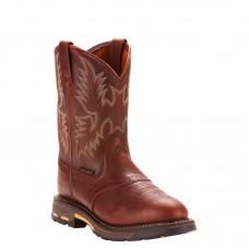 Ariat 10001187 - Men's - Workhog Pull-on Soft Toe - Dark Copper