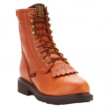 """Ariat 10002435 - Men's - 8"""" Cascade Steel Toe - Sunshine Wildcat"""