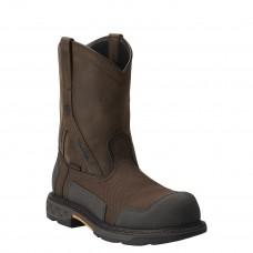 Ariat 10012942 - Men's - OverDrive XTR Waterproof Composite Toe - Brown Woven