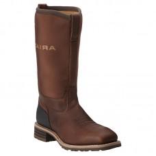 Ariat 10014064 - Men's - Hybrid All Weather Waterproof Steel Toe - Oiled Brown