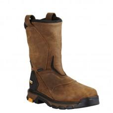 Ariat 10020081 - Men's - Intrepid Pull-On Waterproof Composite Toe - Rye Brown