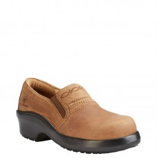 Ariat 10023035 - Women's - Expert Safety Clog ESD Composite Toe - Brown