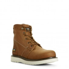 """Ariat 10023064 - Men's - 6"""" Rebar Wedge Soft Toe - Golden Grizzly"""