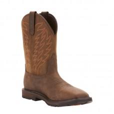 Ariat 10024984 - Men's - Groundbreaker Wide Square Toe Waterproof - Dark Brown
