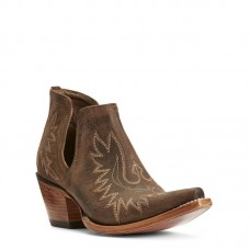 Ariat 10027282 - Women's - Dixon Western Boot - Weathered Brown