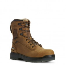"Ariat 10027326 - Men's - 8"" Turbo Waterproof Carbon Toe - Aged Bark"