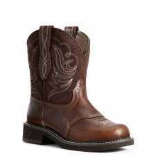 Ariat 10029492 - Women's - Fatbaby Heritage Dapper Western Boot - Copper Kettle