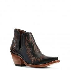 Ariat 10029653 - Women's - Dixon Western Boot - Brooklyn Black