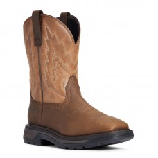 Ariat 10033963 - Men's - Big Rig Soft Toe - Rye Brown