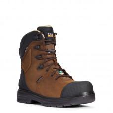 "Ariat 10033997 - Men's - 8"" Turbo Outlaw CSA Waterproof 400g Carbon Toe - Barley Brown"