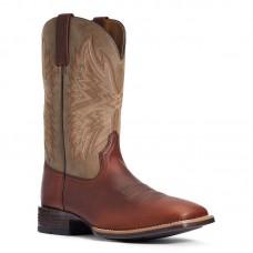 Ariat 10034081 - Men's - Valor Ultra Western Boot - Peanut