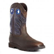 Ariat 10034724 - Men's - Groundwork Waterproof Soft Toe - Dark Brown
