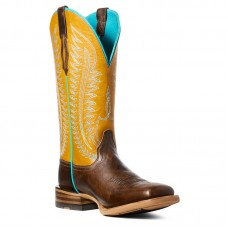 Ariat 10035779 - Women's - Belmont Western Boot - Tumbled Brown