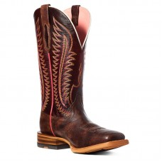 Ariat 10035780 - Women's - Belmont Western Boot - Crackled Cafe
