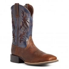 Ariat 10035928 - Men's - Sport Cool VentTEK Western Boot - Bar Top Brown