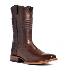 Ariat 10036001 - Men's - Circuit Patriot Square Toe Western Boot - Bar Top Brown