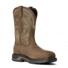Ariat 10038321 - Men's - WorkHog XT Cottonwood Soft Toe - Distressed Brown