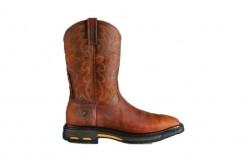 Ariat 10007043 - Men's - Workhog Wide Square Toe - Toast