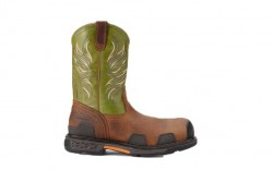 Ariat 10011921 - Men's - Overdrive Wide Square Toe - Lime