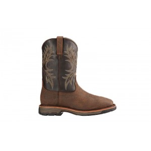 Ariat 10017436 - Men's Wide Square Toe H2O - Bruin Brown