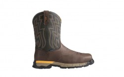 Ariat 10021487 - Men's - Rebar Flex Western H2O CT - Chocolate Brown