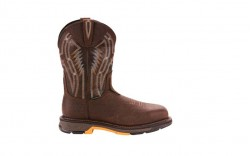 Ariat 10024952 - Men's - WorkHog XT Dare Carbon Toe - Bruin Brown/Crazy Black
