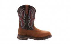 Ariat 10024968 - Men's - WorkHog XT Wide Square Toe H2O Carbon Toe - Oily Distressed Brown/Black