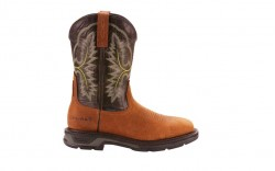 Ariat 10024971 - Men's - WorkHog XT Wide Square Toe H2O - Tumbled Bark/Dark Forest
