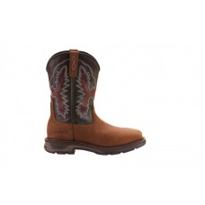 Ariat 10024975 - Men's - WorkHog XT Wide Square Toe H2O - Oily Distressed Brown/Black