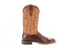 Ariat 10025180 - Men's - Relentless Platinum - Tabacco Full Quill Ostrich/Tough Company