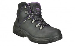 Avenger 7124 - Women's - Steel Toe Waterproof EH Boot - Black/Purple
