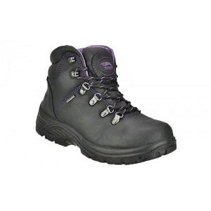 Avenger 7124 - Women's - Steel Toe Waterproof EH Boot - Black/Purple