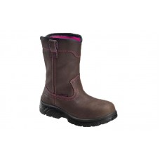 Avenger 7146 - Women's - Composite Toe Waterproof EH Boot - Brown