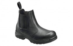 Avenger 7408 - Men's - EH Slip-On Composite Toe Boot - Black