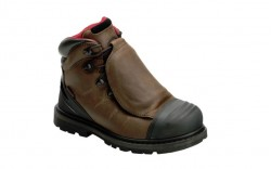"Avenger 7590 - Men's - Hammer 6"" External Met Waterproof Carbon Nanofiber Toe - Brown"