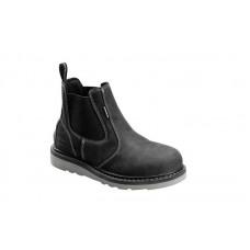 Avenger 7605 - Men's - Wedge Pull-On Waterproof Soft Toe - Black