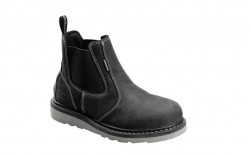 Avenger 7605 - Men's - Wedge Pull-On Waterproof Soft Toe - Black