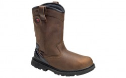Avenger 7676 - Men's - Hammer Wellington Waterproof Soft Toe - Brown