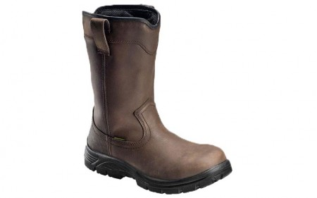 Avenger 7846 - Men's - Waterproof EH Composite Toe Wellington - Brown