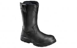 Avenger 7847 - Men's - Waterproof EH Composite Toe Wellington - Black