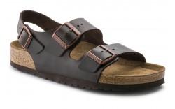 Birkenstock 234541 - Men's - Milano Soft Footbed Regular Width - Brown