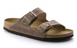 Birkenstock 352201 - Men's - Arizona Oiled Leather Regular Width - Tobacco Brown