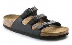 Birkenstock 53011 - Women's - Florida Soft Footbed Birkoflor Regular Width - Black