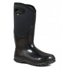"Bogs 60155-005 - Women's - 13"" Classic Tall With Handles - Black Smooth"
