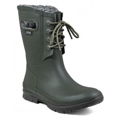 "Bogs 72103-301 - Women's - 9"" Amanda Plush - Dark Green"