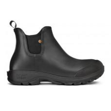 """Bogs 72208-001 - Men's - 5"""" Sauvie Slip On Boot - Black"""