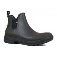 """Bogs 72208-201 - Men's - 5"""" Sauvie Slip On Boot - Dark Brown"""