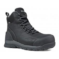 Bogs 72234CT-001 - Men's - Foundation Leather Mid Composite Toe - Black