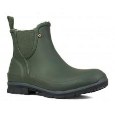Bogs 72247-301 - Women's- Amanda Plush Slip On - Dark Green