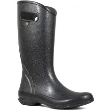 "Bogs 72400-001 - Women's - 13"" Rain Boot Glitter - Black"